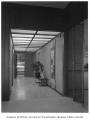 Weisfield residence interior showing hallway, Seattle, 1961