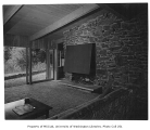 Lurie residence interior showing living room, Bellevue, 1952