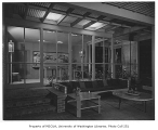 Smith residence interior, Seattle, 1952