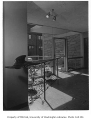 Susan Henry Library interior showing entrance, Seattle, n.d.