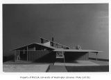 Reynolds residence, architectural model, n.d.