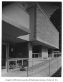 Susan Henry Library exterior showing walkway, Seattle, n.d.