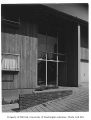 Mayer residence exterior showing entrance, Seattle, 1950