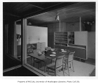 Dietz residence interior showing kitchen, Kirkland, 1952