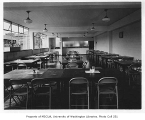 Goodwill Industries interior showing dining area, Seattle, 1949
