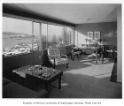 Lakeview Boulevard apartments interior showing living room, Seattle, n.d.