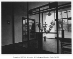 Goodwill Industries interior showing entrance, Seattle, 1949