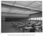 Catherine Blaine Junior High interior showing classroom, Seattle, n.d.