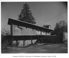 MacLane residence exterior, Seattle, 1953