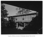 Burnett residence exterior, Seattle, 1952