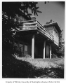 Armbruster residence exterior showing deck, Seattle, 1946
