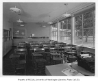 Helen Bush School interior showing classroom, Seattle, n.d.