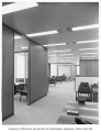 Norton Building interior showing offices, Seattle, 1960