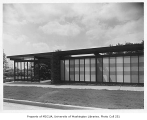 Blakeley Clinic exterior, Seattle, 1957