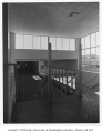 Catherine Blaine Junior High interior showing stairway, Seattle, n.d.