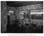Ceis residence interior showing dining area, Seattle, n.d.
