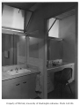Newell residence interior showing bathroom, Seattle, 1954