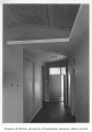 Duplex Houses interior showing hallway, Seattle, 1946