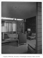 Blakeley Clinic interior showing waiting room, Seattle, 1957