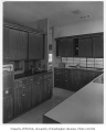 Dowell residence interior showing kitchen, Seattle, 1956
