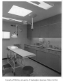 Group Health Clinic interior showing treatment room, Seattle, 1958