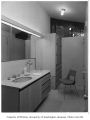 Gilbert residence interior showing bathroom, Seattle, 1958