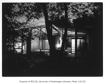 Fleming residence exterior from side, Bellevue, 1953
