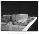 University of Washington Business School, architectural model, 1959