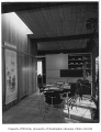 Fleming residence interior showing dining area, Seattle, 1953