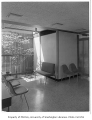 Group Health Clinic interior showing waiting room, Seattle, 1958