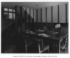 Hart residence interior showing dining room, Seattle, n.d.