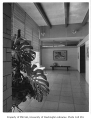 Swartz residence interior showing hallway, Richmond Beach, 1954