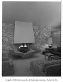 Gilbert residence interior showing living room, Seattle, 1958