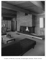 Linville residence interior showing living room, Seattle