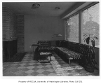 Hart residence interior showing sitting room, Seattle, n.d.