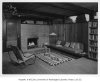 Ethel Addition interior showing living room, Seattle