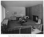 Linville residence interior showing sitting room, Seattle