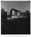 Dusanne residence exterior from rear, Seattle, 1949