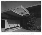 Hart residence exterior showing entrance, Seattle, n.d.