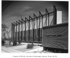 University Unitarian Church exterior, Seattle, 1960
