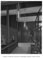 Rind residence interior showing hallway, Bellevue, 1957