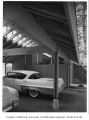 Gilbert residence exterior showing carport, Seattle, 1958