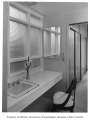 Clark residence interior showing bathroom, Seattle, 1957