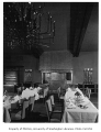 Canlis Restaurant interior showing dining area, Seattle, n.d.
