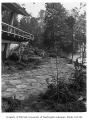 Anderson residence exterior showing landscaping, Mercer Island, 1960