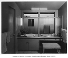 Burnett residence interior showing bathroom, Seattle, 1952