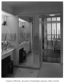 Anderson residence interior showing bathroom, Mercer Island, 1960