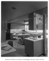 Wertheimer residence interior showing kitchen, Mercer Island, 1960