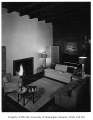 Terry residence interior showing living room, Seattle, n.d.