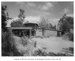Anderson residence exterior from side, Auburn, 1961